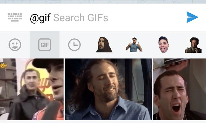 Pannello GIF
