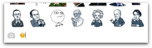 Suggerimenti sticker Telegram Desktop